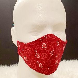 3 for $15 Hearts & swirls mask (Bundle & Save)